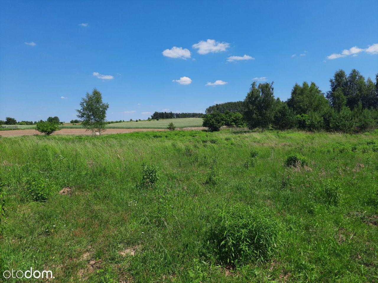 Działka Mazury Romany 1500m2 Uzbrojona Jezioro