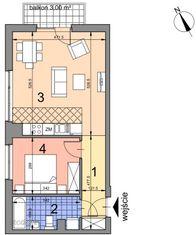 AA2.12 lokal mieszkalny, IIp, Kobierzyńska 164