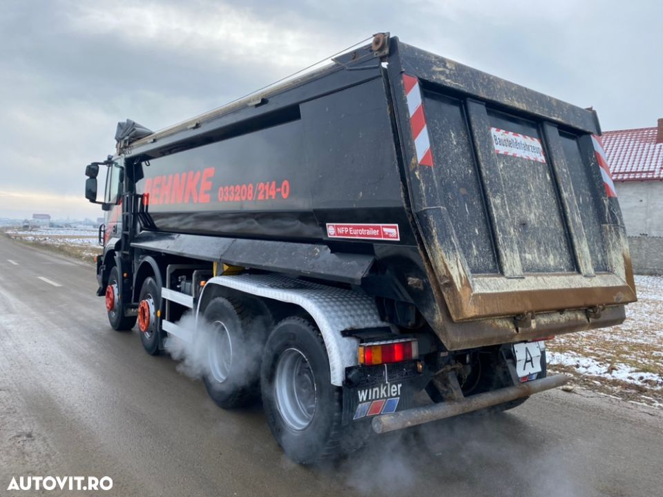 Iveco 8x4 man Iveco DAF - 11