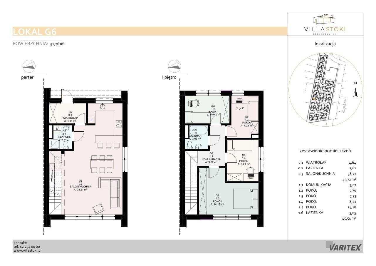 Dom typu 96 - Villa Stoki (dom G.06)