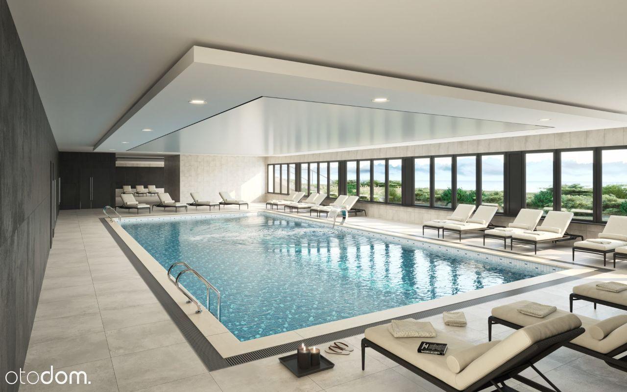 Apartament z dostępem do basenu, sauny i jacuzzi