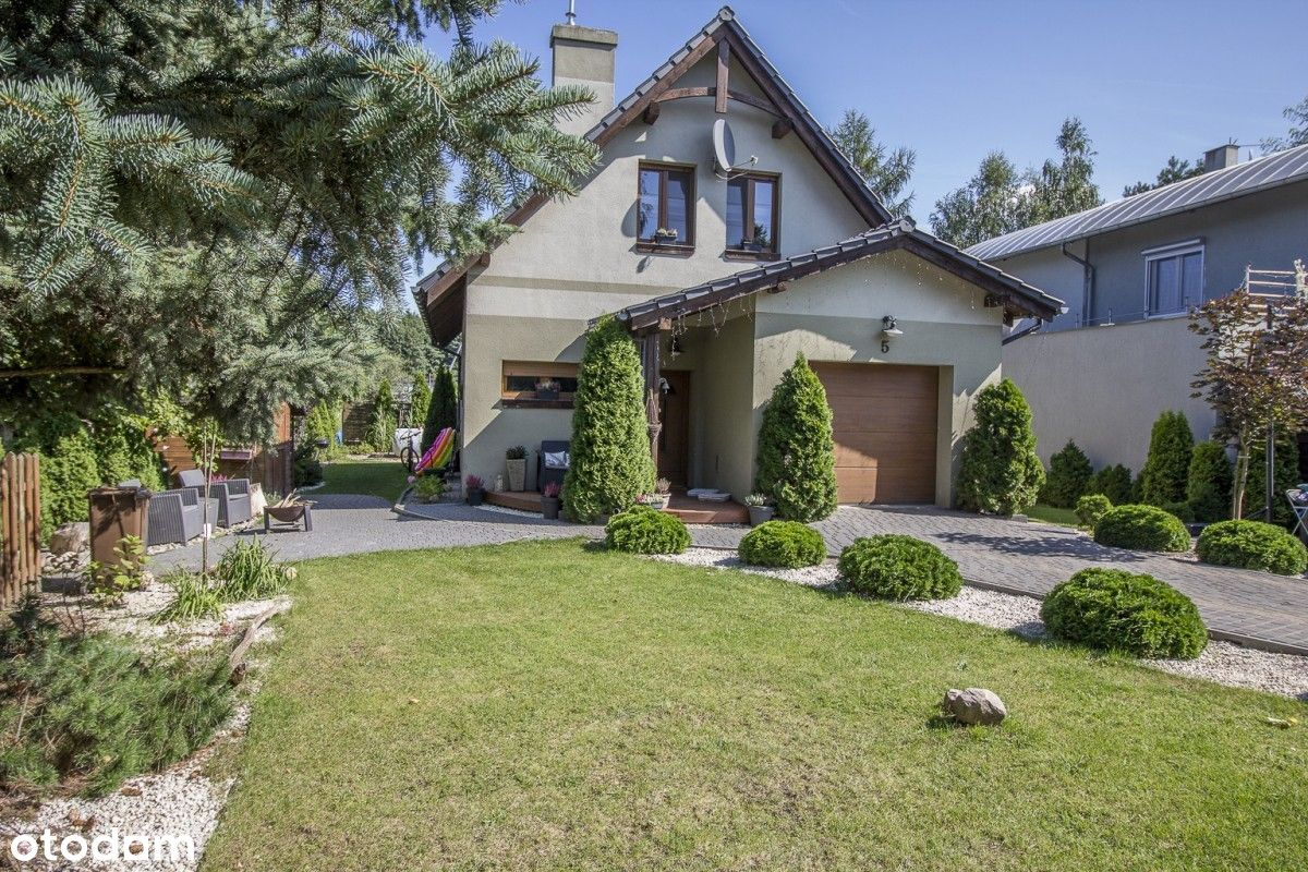 Dom z ogrodem i garażem + duży warsztat,