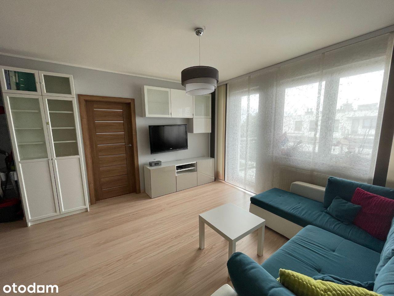 2- pokojowe mieszkanie z miejscem w hali garażowej