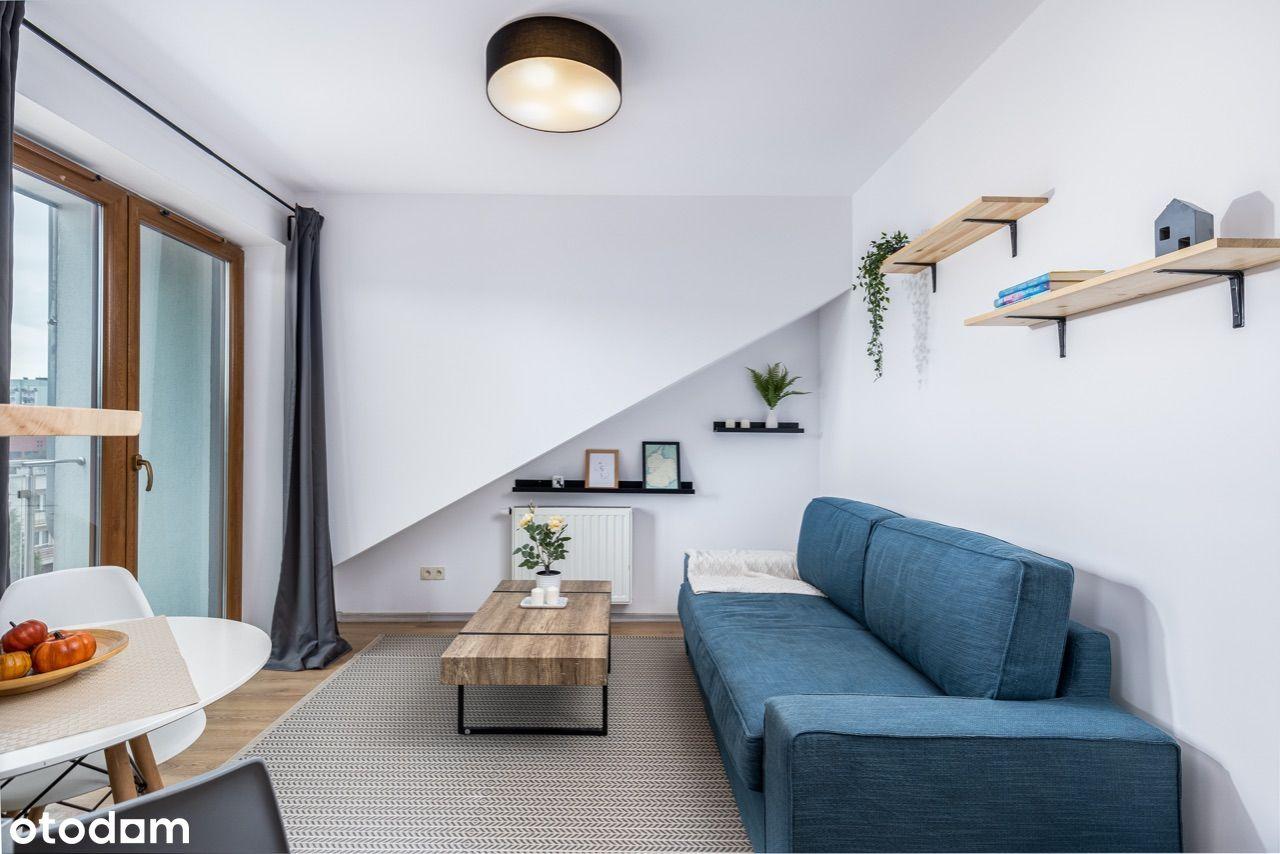Mieszkanie 2 pokoje 2 balkony ul. Hoffmanowej