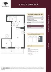 Strzałowska, 1. piętro, 49mkw, 3 pokoje
