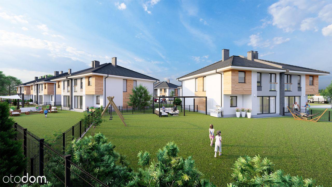 Dwupoziomowe mieszkanie 87,8 m2 z dużym ogrodem