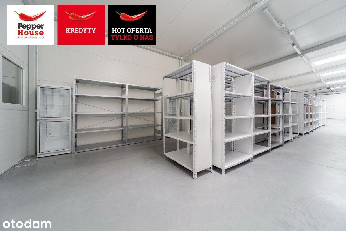 Magazyn z biurami - Gdynia Wielki Kack
