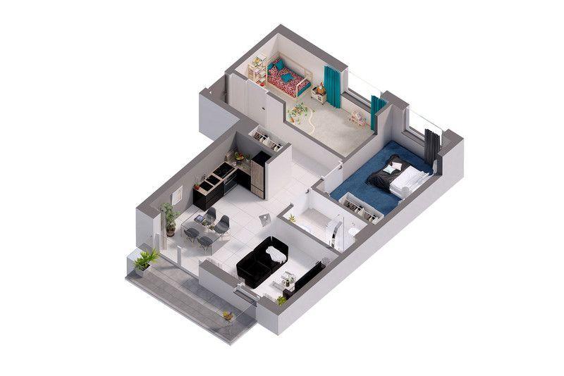 3 Pokoje Deweloperskie / Osiedle Dobre Miejsce