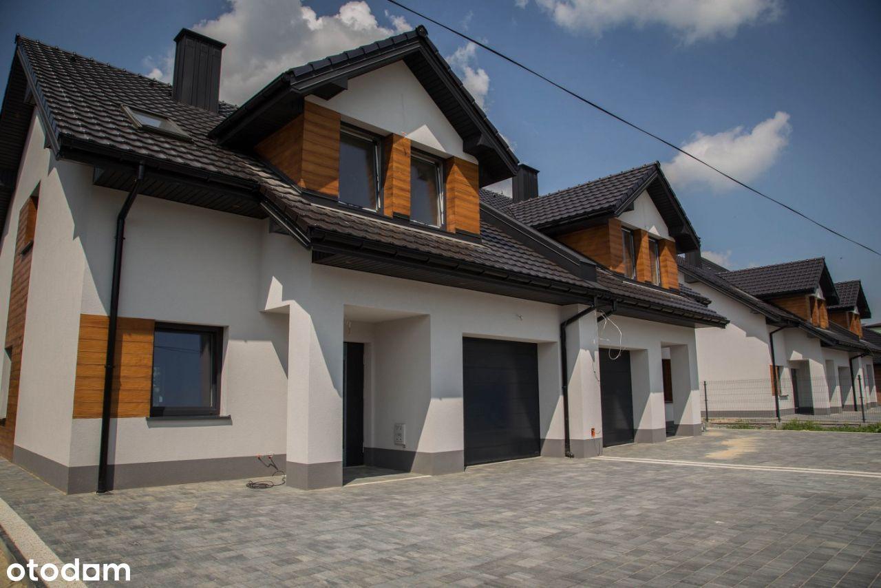 Nowoczesny dom z działką w zabudowie bliźniaczej