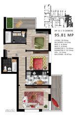 Apartamente cu 3 camere - Complex rezidential de lux PIPERA