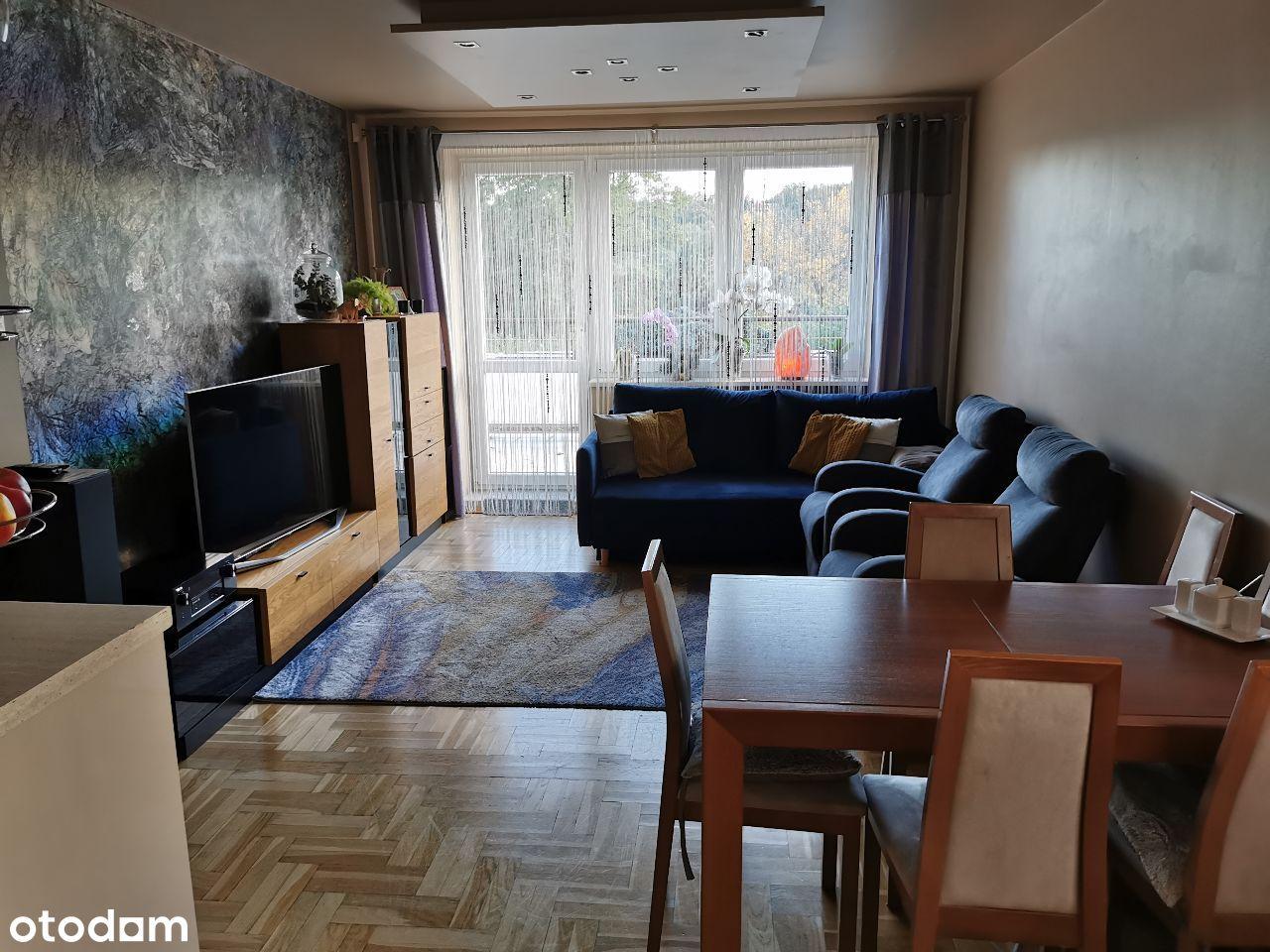 Mieszkanie 3 pok.,3 m.parking.,taras,garaż,piwnica
