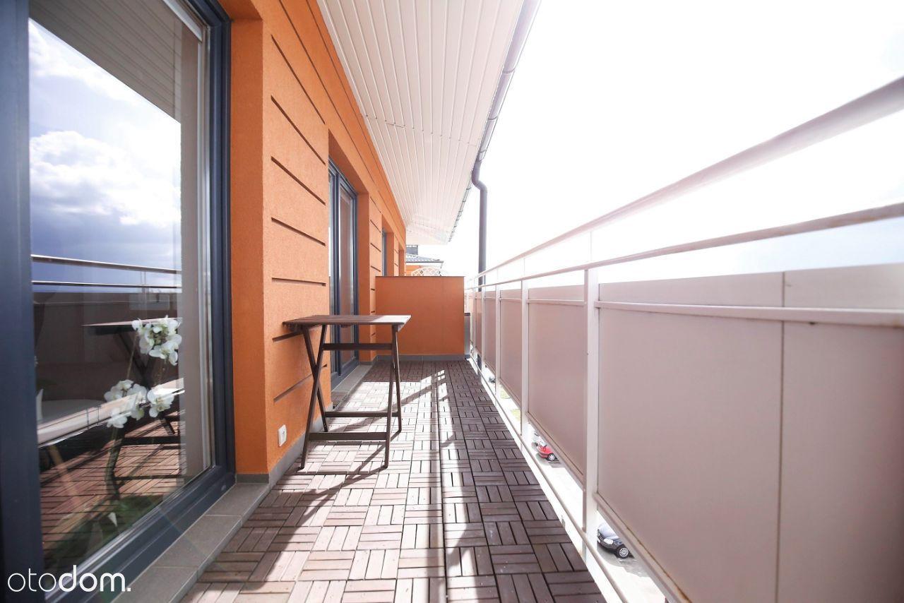 Mieszkanie 2-pok z dwoma balkonami