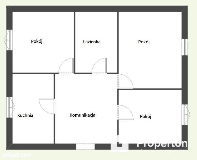3 pokojowe mieszkanie, idealne na Start
