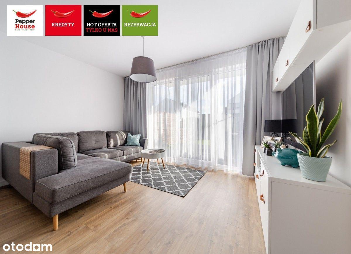 3 pokoje, ogródek, wysoki standard