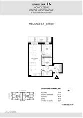 SŁONECZNA16 Mieszkanie B5 50,77 Aleksandrów Kuj.