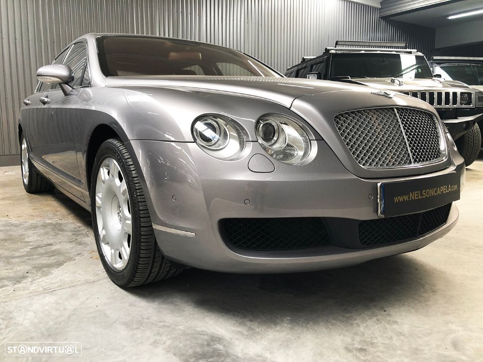 Bentley Continental Flying Spur 5 Lugares 6.0L W12 - 12