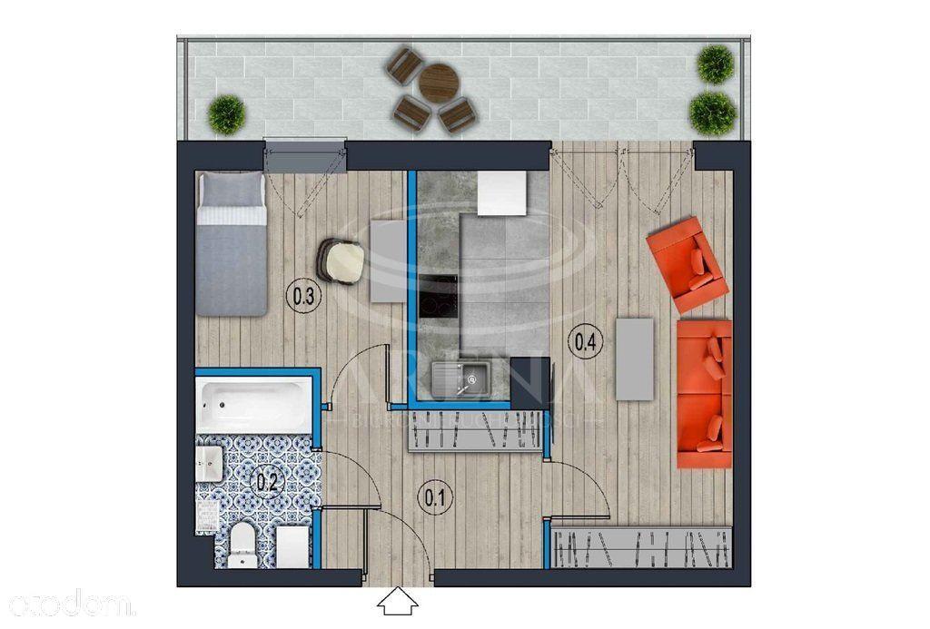 2 pokoje 42m2 stan deweloperski gotowe