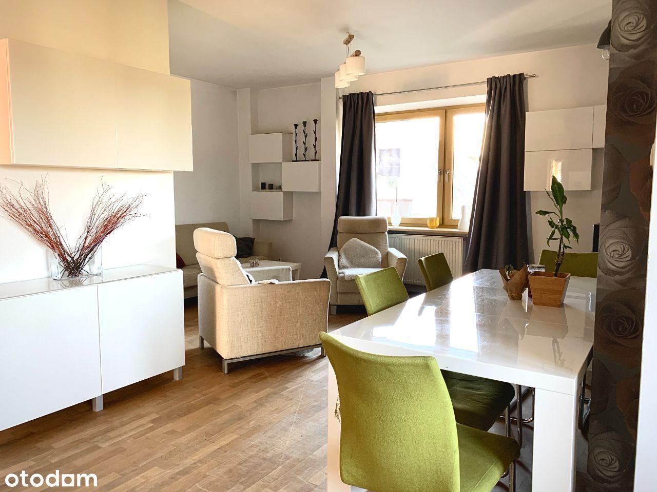 4-pokojowe, funkcjonalne mieszkanie na Zaciszu