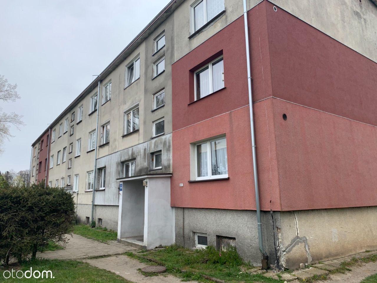 Duże mieszkanie do remontu z balkonem i z działką!