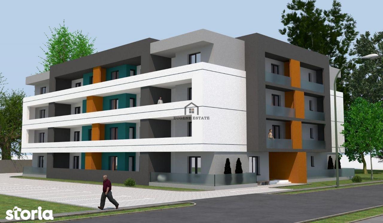 Apartament spatios cu 2 camere in Giroc