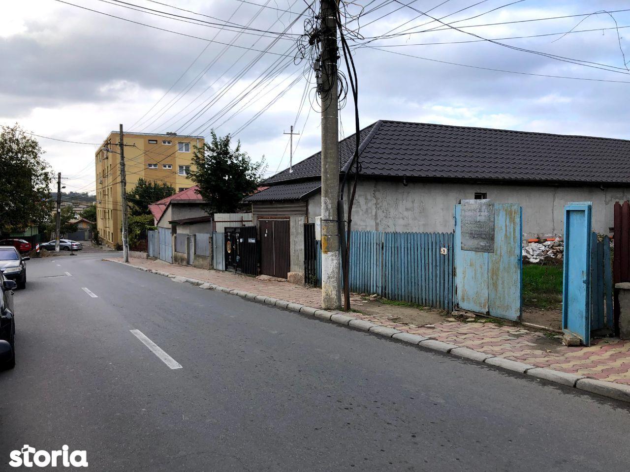 Terem intravilan cu proiect casa P+M, str 24 Ianuarie, Cernavoda