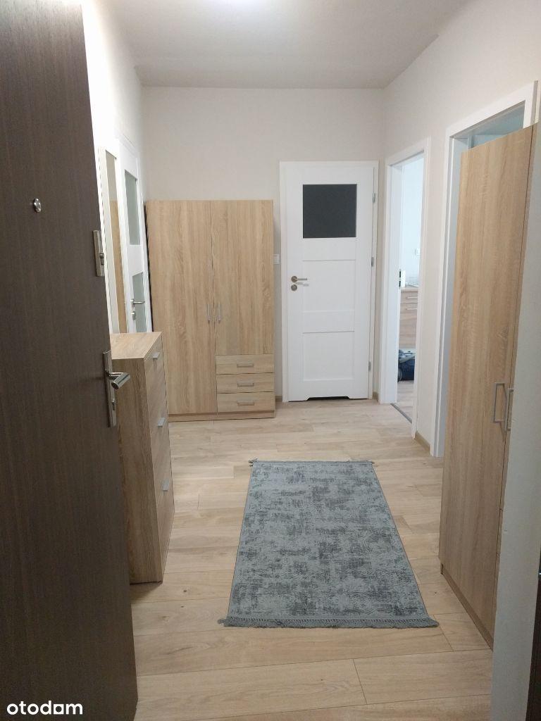 mieszkanie 52 m2, dwa pokoje, po remoncie, parter