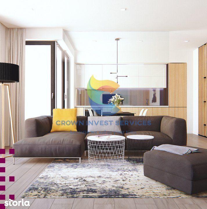 Apartament 3 camere, decomandat, Copou, zona Sadoveanu, 72,8mp utili