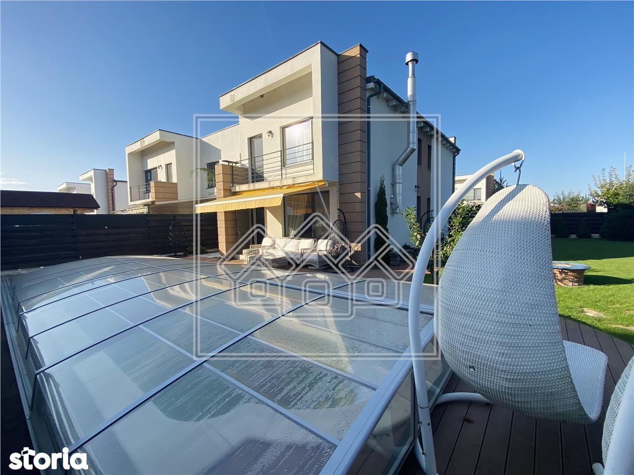 Casa de lux - piscina si sauna in exterior - 509 mp teren - Turnisor