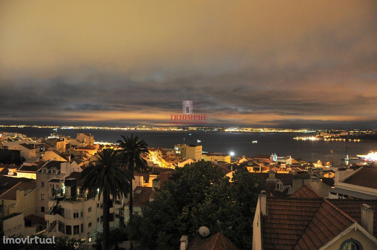 Apartamento T1 Terraço Lapa, Lisboa