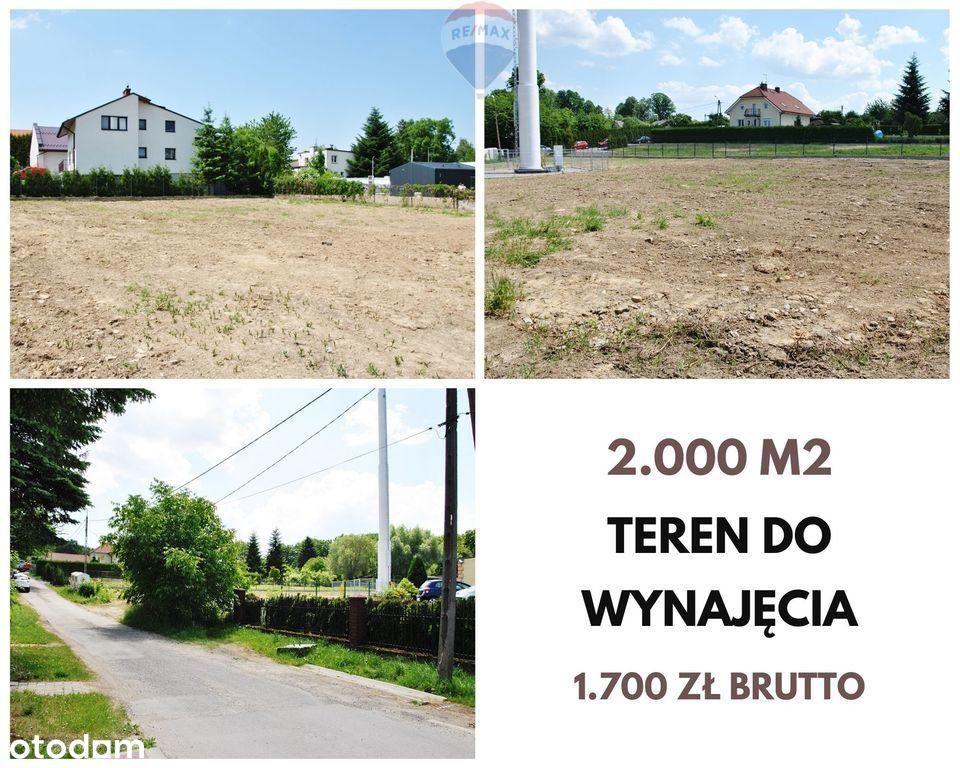 Działka na wynajem - 2.000 m2