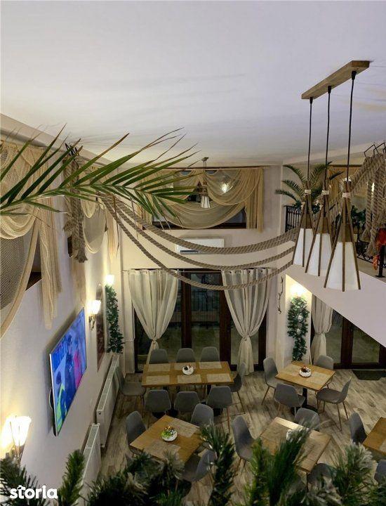 Salajan | Restaurant Lux | Mobilier interior | Terasa