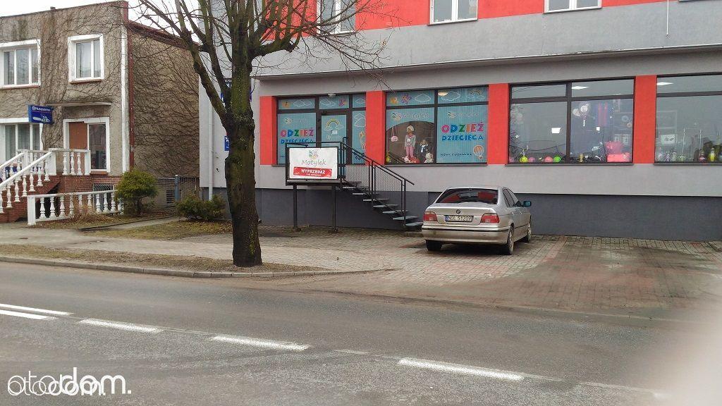 Lokal użytkowy 65 m2 witryną Braniewo, ul. Morska