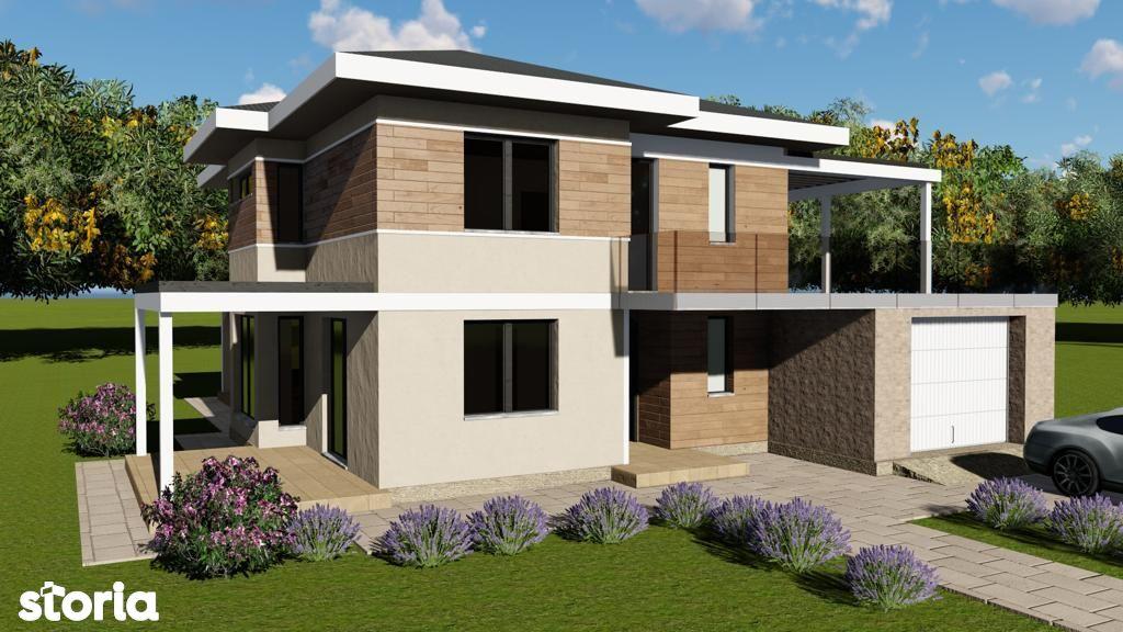 Vila Nicolina, 5 camere, garaj, 600mp teren, finalizare august 2021