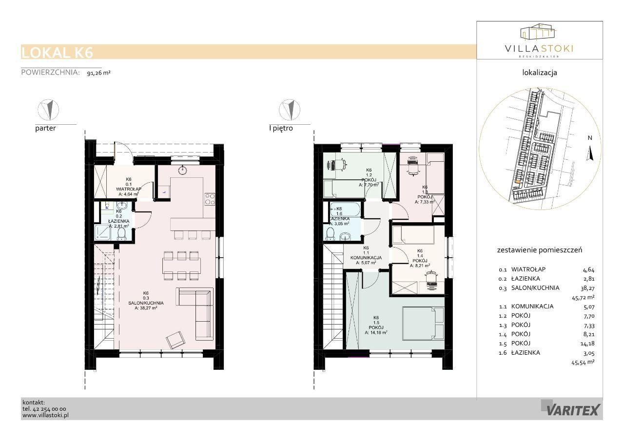 Dom typu 96 - Villa Stoki (dom K.06)