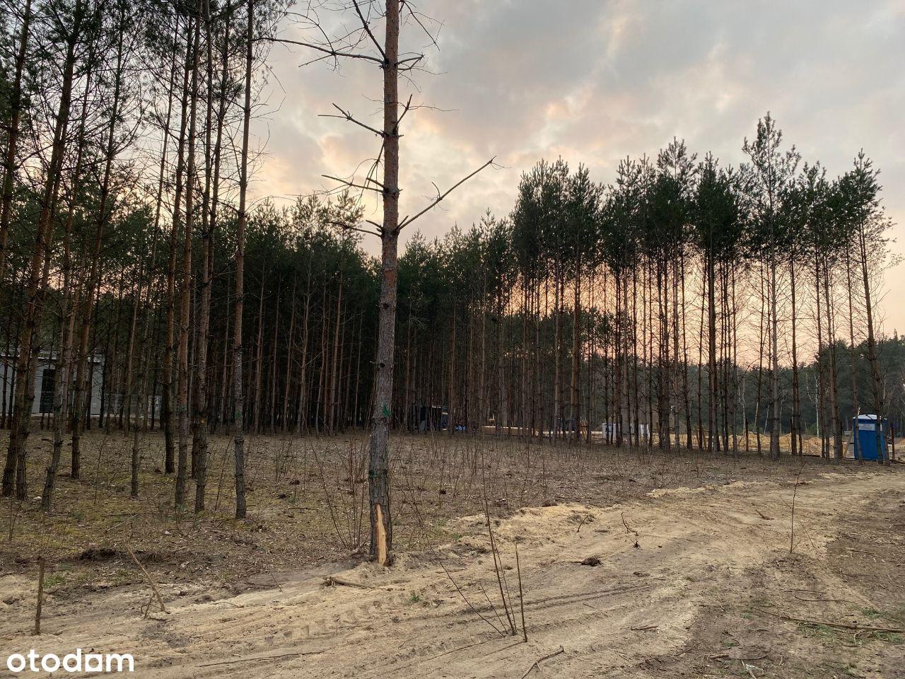 Działka budowlana Marynik k. Książenice 1500m2