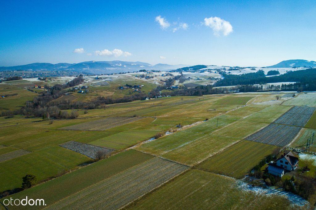 Widokowa działka rolna 24 ar | Słopnice