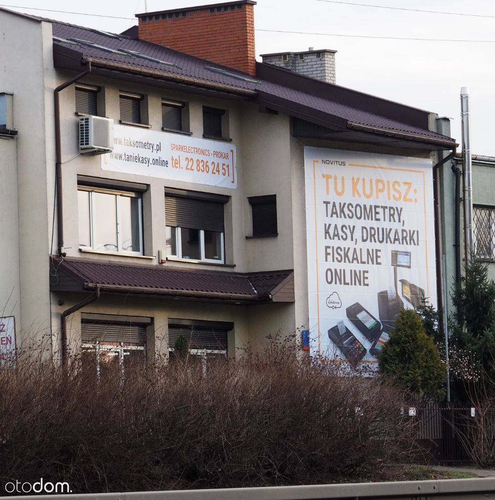 Budynek biurowo użytkowy, wysoki standard,