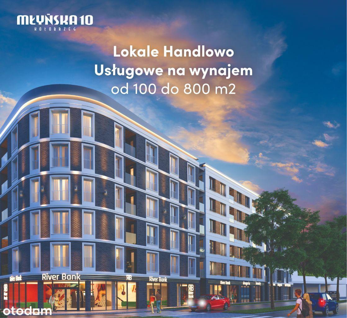 Lokale Handlowe Kołobrzeg od 100 do 800 m2
