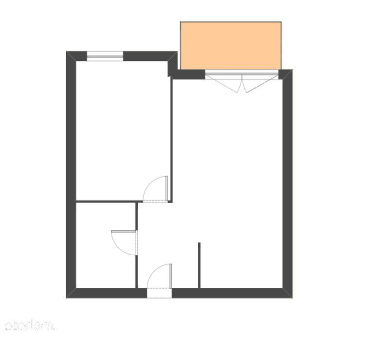 Duża Sypialnia - ZACHÓD - 2 pokoje - Możliwy RABAT