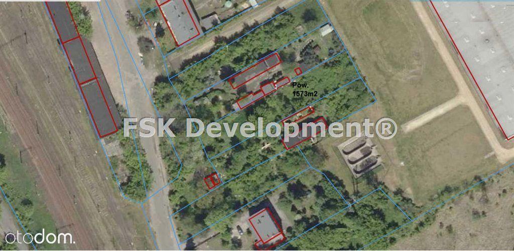 Działka, 1 573 m², Będzin