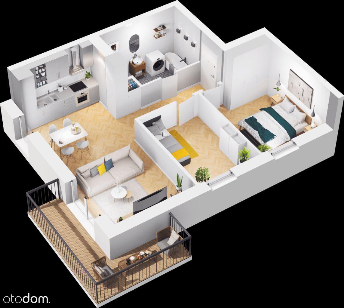 Komfortowe 3-pokojowe mieszkanie Łąkoszyn