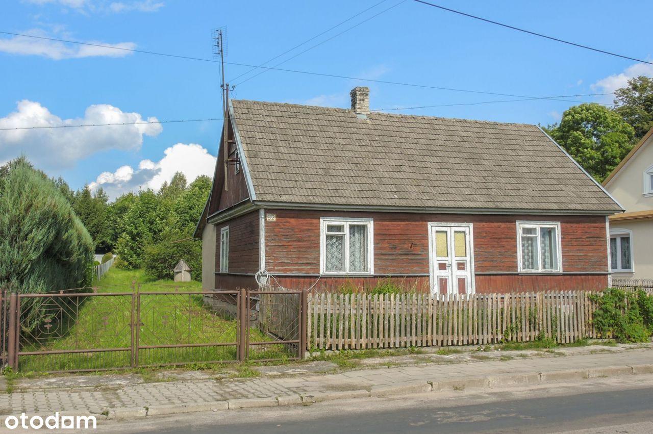 Okazja działki w centrum Narewki 3770 m2