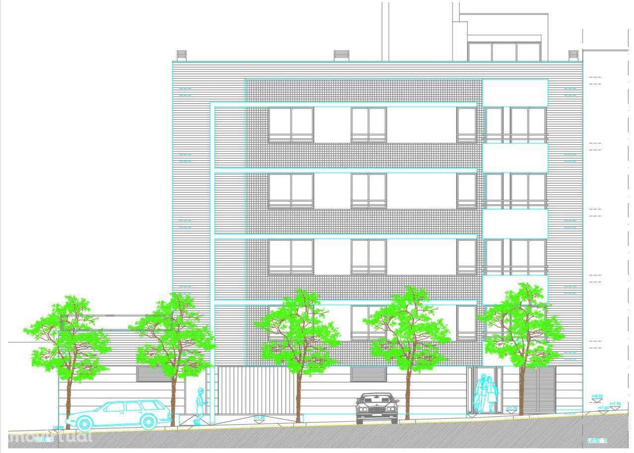 Lote para construção de 8 apartamentos