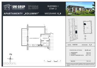KAWALERKA - Lokal B - PARTER - budynek I - etap II