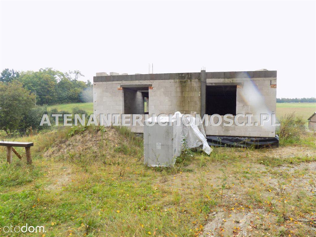 Okazja! Dom 136m2 Stan Surowy - Samostrzel