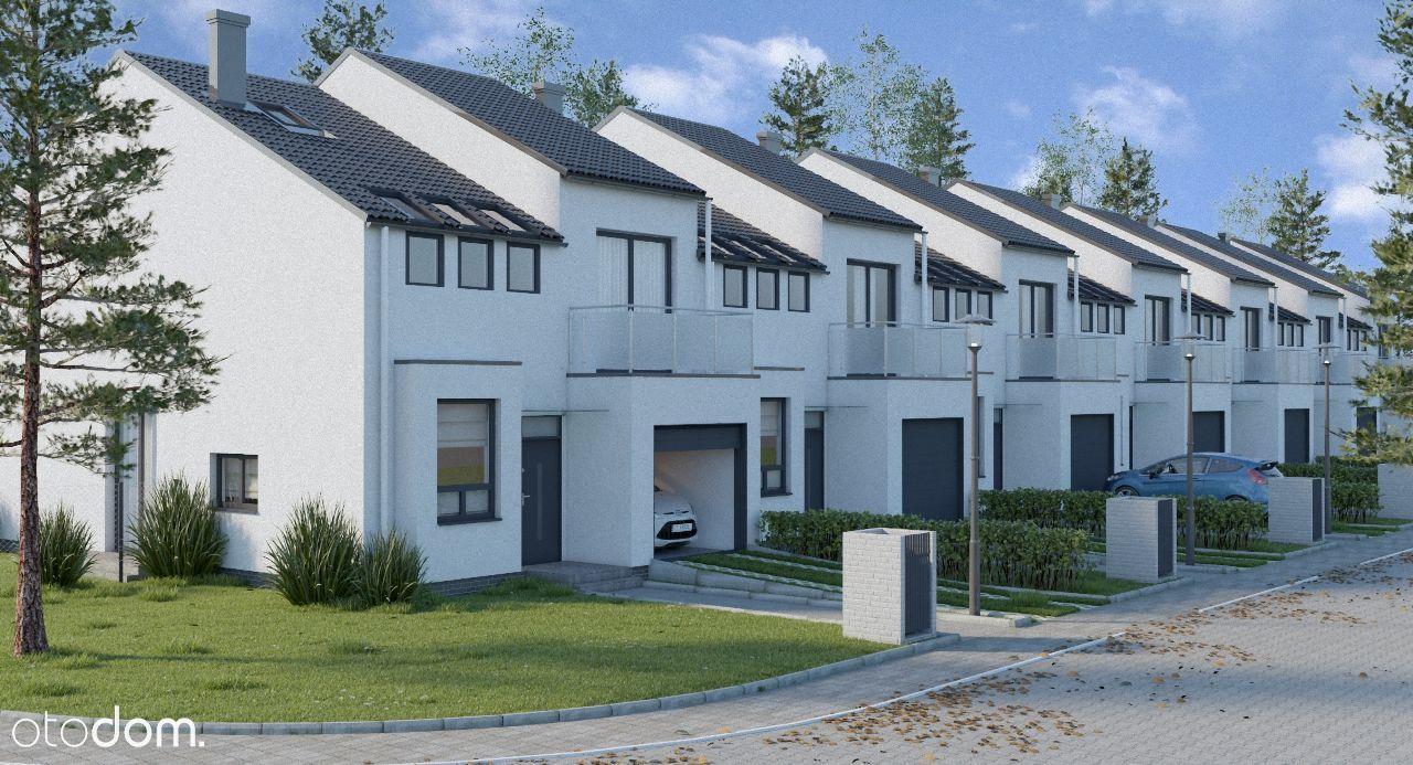 Nowe domy szeregowe w cichej okolicy