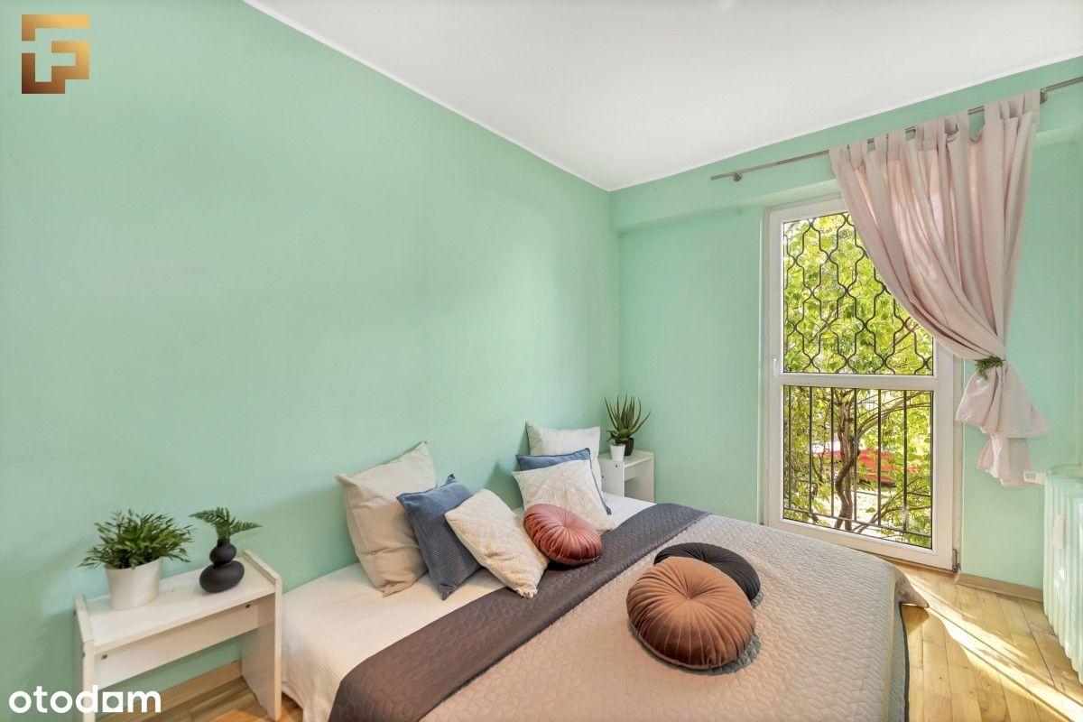 3 pokojowe mieszkanie na zielonych Bielanach
