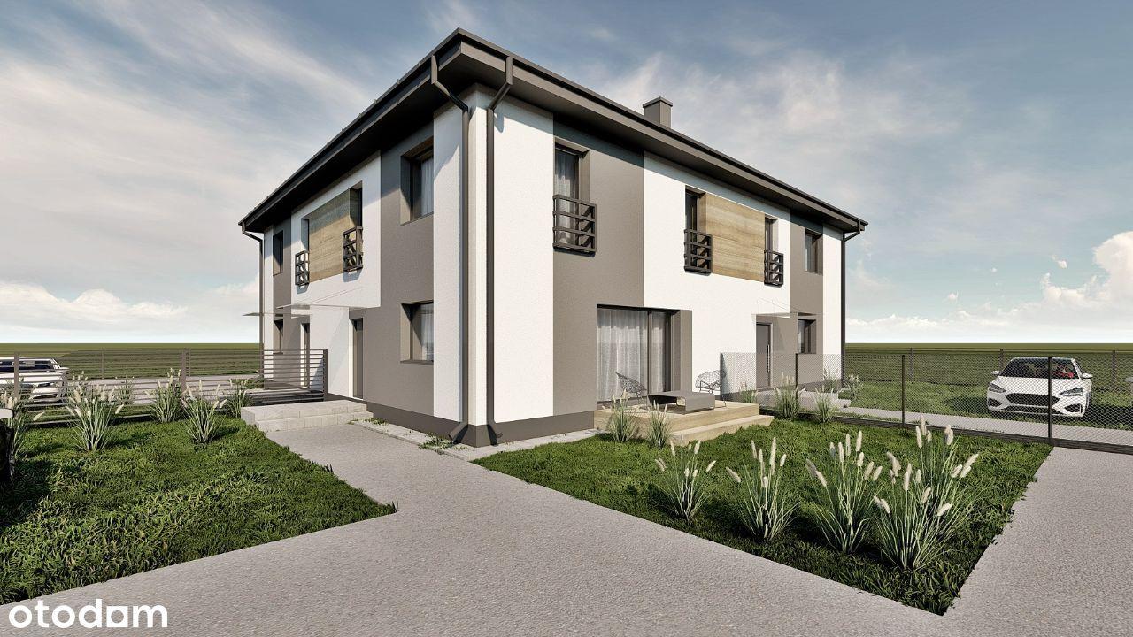 Duży dom w zabudowie bliźniaczej | Andrespol