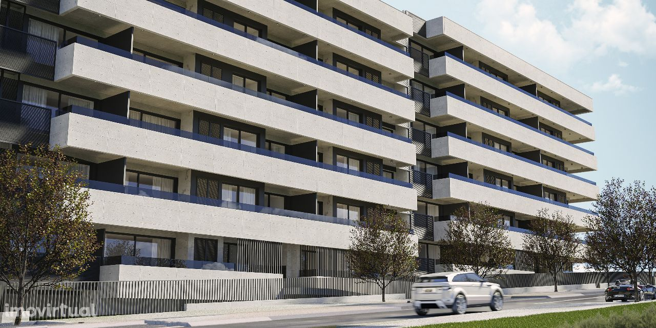ASR T3 2 Frentes c/ 65m² de terraço 600m El Corte Inglês Gaia Porto
