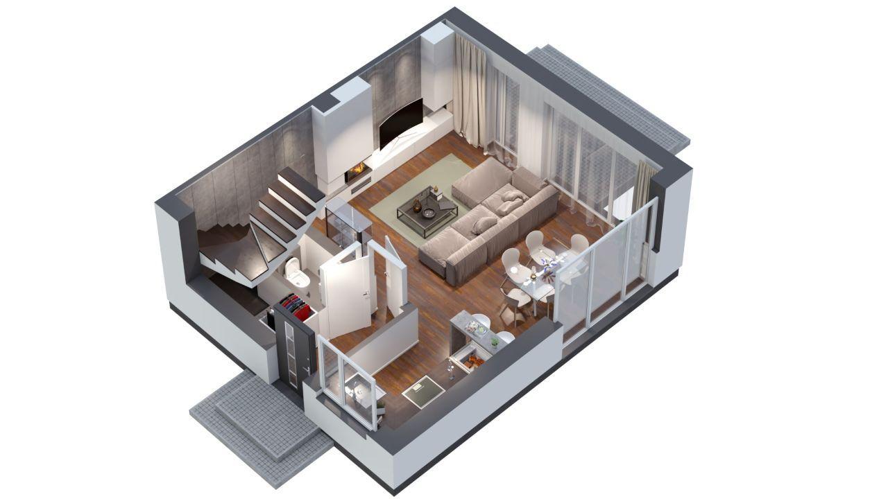 Invest Complex znakomite mieszkanie 76.2m2+ogród